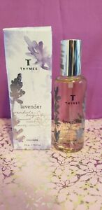 Thymes Lavender Cologne Spray 1.75 fl. oz / 50 ml New in Box! Free Shipping