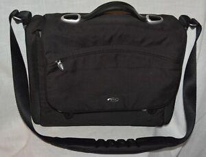Tumi Black Expandable Organizer Laptop  Brief Business Bag case  attache