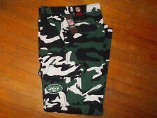 NWTS NFL NEW YORK JETS Camo Cargo Pants Size 36W X 32L Men's