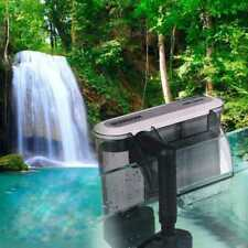 220 V Filtro esterno Hang On Surface Skimmer MINI NANO ACQUARIO FISH TANK NUOVO