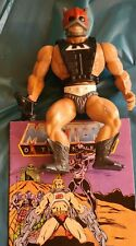 1982 Motu He Man Zodac Zodak figure 100% complete with weapon and armour taiwan.