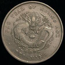 China Chihi Pei Yang Dollar Yuan Year 34 1908 26.63g (T110)