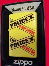 Zippo ® Caution Police Caution do not cross the red line nuevo/New OVP película