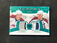 2011-12 UPPER DECK ARTIFACTS DUCHENE/STASTNY TUNDRA TANDEMS DUAL PATCH #ed 40/50