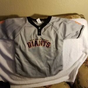 SAN FRANCISCO GIANTS JERSEY - YOUTH MEDIUM - THROWBACK - FRANKLIN