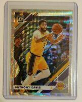 2019-20 Panini Donruss Optic Fanatics Silver Wave Prizm Anthony Davis #90 Lakers