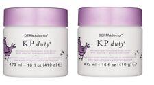 DERMAdoctor KP Duty Dermatologist Formulated Body Scrub with Chemical 16 oz - 2