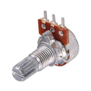 WH148 Potentiomètre Rotatif 1K 5K 10K 50K Linear Rotary Potentiometer Shaft 15mm