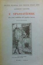 U SPASSATIIMBE LA MUSA ANALFABETA DEL POPOLINO BARESE. P12403