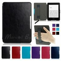 For Amazon Kindle Paperwhite 1234 Ultra Thin Magnetic Leather Smart Case Cover