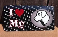 I Love My Chesapeake Bay Retriever Pet Dog Lovers Novelty Auto License Plate