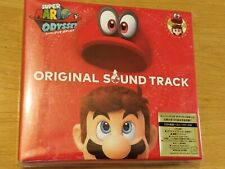 OFFICIAL SUPER MARIO ODYSSEY ORIGINAL SOUNDTRACK OST 4CD - NEW AND SEALED