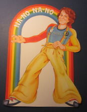Old Vintage 1979 - MORK - Robin Williams - Na-No Na-No Figural Display SIGN
