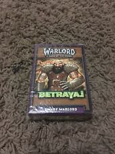 Sealed CCG Warlord Saga of the Storm starter deck - Dwarf Warlord.