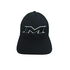 Miken Hat by Pacific (404M) ALL BLACK/SILVER/BLK LG/XL ( 7 3/8- 8)