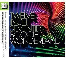 BOOGIE WONDERLAND 12 '' INCH 70S 3-CD DIGIPACK 3 CD NEU