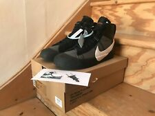 Nike x Off-White Blazer Mid Spooky Pack, Size UK 9 US 10, Grim Reaper Black