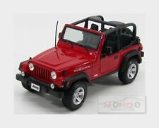 Maisto Mi31663r Jeep Wrangler Rubicon Red 1 18