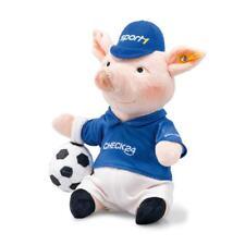 STEIFF 674488 Phrasenschwein Schwein 22cm Fußball Check24