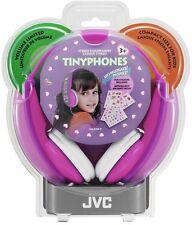 JVC HAKD7P Kids Tinyphones Volume Limit Pink/Violet - Electronics