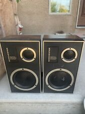 Vintage Dorchester Speakers Ported Speaker System Speakers