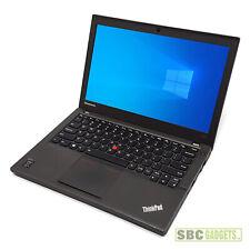 Lenovo ThinkPad X240 Laptop (i5-4300U @ 1.9GHz, 8GB RAM, 516GB HDD & SSD, Win10)