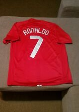 9981c3a54b Manchester United jerseyCristiano Ronaldo 7 season 2008 size L good  condition