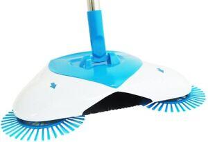 Scopa Rotante Setole Rotanti Pattumiera Aspirapolvere Manuale Spin Broom