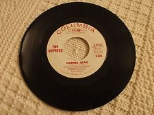 THE DUPREES NORMA JEAN/SHE WAITS FOR HIM  COLUMBIA 43464 PROMO