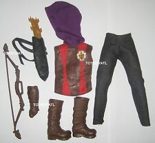 Ever After High TriCastleOn 3 Pack Hunter Huntsman Boy Doll Outfit Clothes Shoes