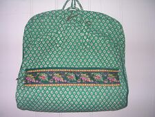 VERA BRADLEY Rare Large Hanging GARMENT Travel Bag GREENFIELD 46 x 22 Excel Cond