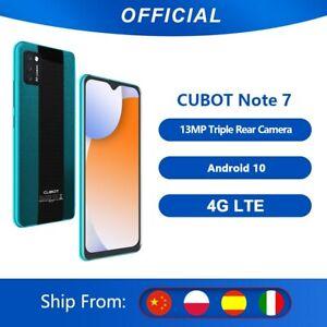 Cubot Note 7 Smartphone Triple Camera13MP 4G LTE 5.5 pouces écran 3100mAh