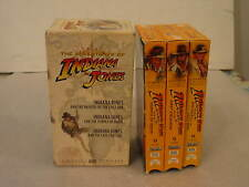 The Adventures of Indiana Jones 3 VHS Tape Set Chapters 23,24,25