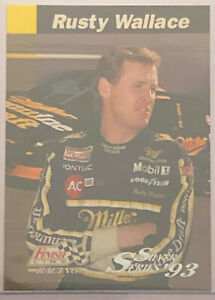 1993 Finish Line Rusty Wallace Siver Series #122 Miller MGD