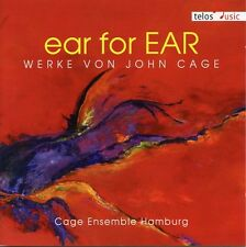 Cage / Cage Ensemble - Ear for Ear: Works By John Cage [New CD]
