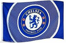 Chelsea Football Club  Flag - Latest Bullseye Design Flag