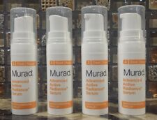 Lot of 4 Murad Rapid Advanced Active Radiance Serum .17 oz each  = .68 oz Total