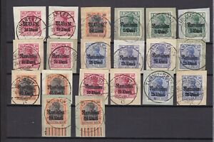 Germany - Besetzung - Romania - WWI - 1914/18 - stempel collection