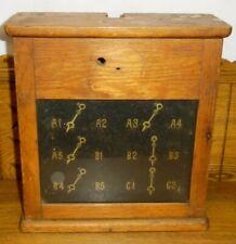 Old Oak Partrick & Wilkins Servant Annunciator / Butler Call Box For Restoration
