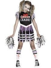 Zombie Fearleader Undead Cheerleader Girl's Costume