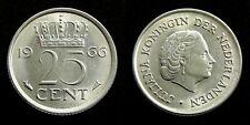 Netherlands - Juliana 25 Cent 1966