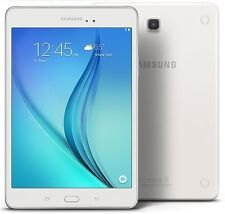 "Samsung Galaxy Tab A, 8"" 16GB WiFi White 1.2Ghz Quad Core, 2 GB Ram SM-T355Y"