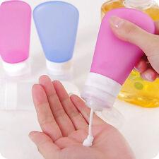 3 xTravel Silicone  Empty Bottle Shampoo Shower Lotion Sub-bottling Tube Squeeze