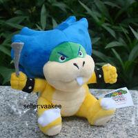 "Super Mario Bros Koopalings Ludwig Koopa 7"" Plush Toy Bowser Stuffed Animal Doll"