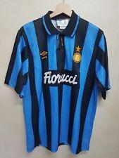 Maglia calcio Inter umbro vintage 90 shirt camiseta soccer maillot Inter umbro