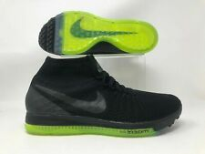 Nike Zoom All Out Flyknit Black Volt Neon Green 844134-001 Size 15