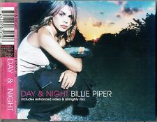"""BILLIE PIPER - 5"""" CD - Day & Night (Stargate & Almighty Mixes) + Video. CD1"""