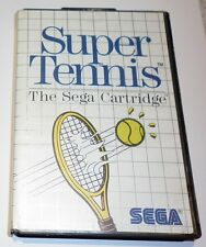 SUPER TENNIS, SEGA MASTER SYSTEM GAME  in very good condition.
