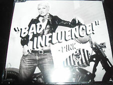 Pink Bad Influence / Please Don't Leave Me Remix Australian 2 Track CD Single