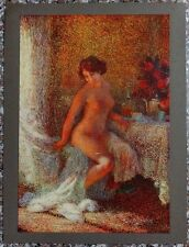 NUDE by Ernest Martens 1920s print 10''x13''